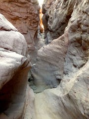 Crack-in-the-Mountain is the premier slot canyon on