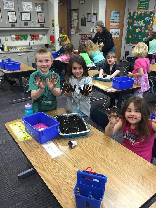 Earth Month Soil Enrichment Project