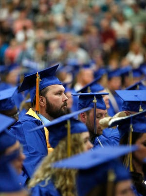 About 350 graduates of Moraine Park Technical College participated in commencement ceremonies, held in May in Fond du Lac.
