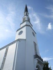 Woodmont Christian Church, located in the Green Hills neighborhood of Nashville, Tenn.