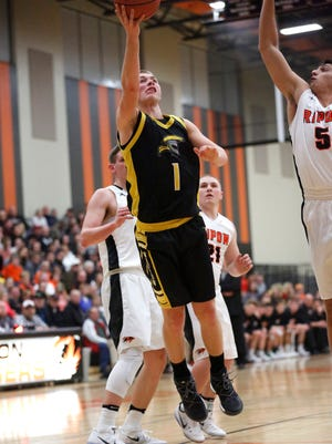 Marcus Domask scored 35 points in Waupun's season-opener last week.