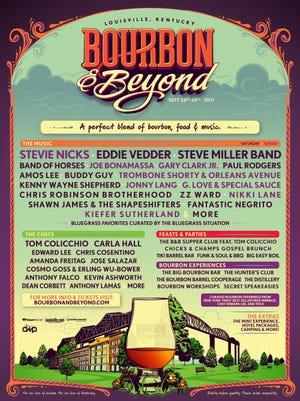 Bourbon & Beyond line-up