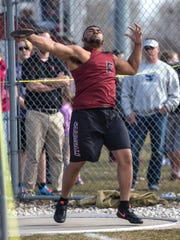 Fond du Lac's Andrew Stone is considered one of the favorites to win Division 1 state titles in the shot put and discus this season.