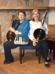 Ellen Sheppard, left, Mary Z. Cox, right, will perform