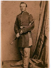 Lt. Col. David L. Stricker, a Dover resident who lost his life in battle during the Civil War fighting for the Union.