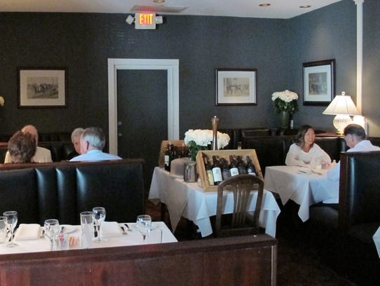 Preston's Steakhouse, an intimate upscale restaurant