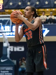 Syracuse University senior Miranda Drummond, a Harpursville graduate, is averaging 11.6 points and 4.8 rebounds.
