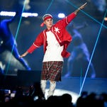 Justin Bieber at Bridgestone Arena