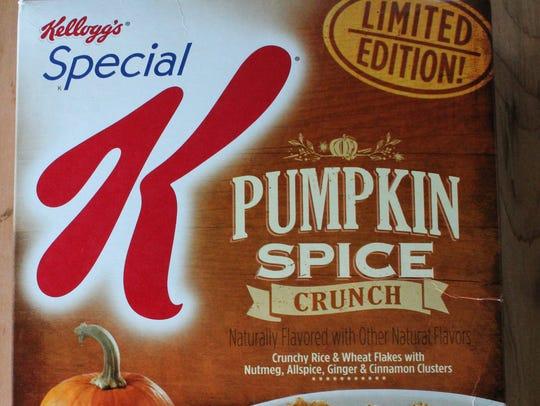 Special K Pumpkin Spice Crunch