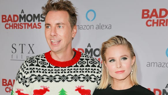 Kristen Bell and Dax Shepard celebrate Christmas with
