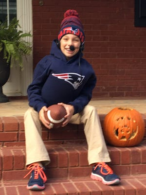 Madeline Jordan, dressed as Bill Belichick for Halloween, was struck by a truck while trick-or-treating.