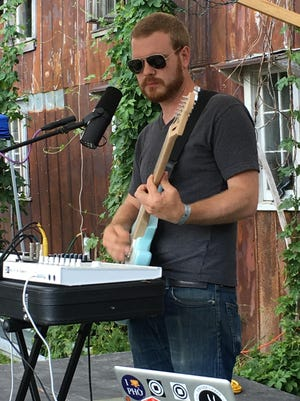 Chris Ploss will perform Saturday at the Rongovian Embassy in Trumansburg as part of his Palleon project.