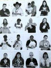 """The first day of the """"E Pluribus Unum: Dinetah"""" project in Gallup last week drew several people to a Walmart parking lot to have their portrait taken."""