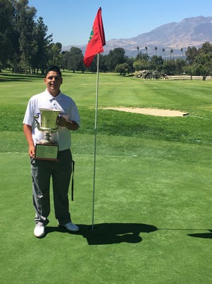 Joey Herrera was named the Ventura County Junior Golf Association's Golfer of the Year in the Boys Championship Division