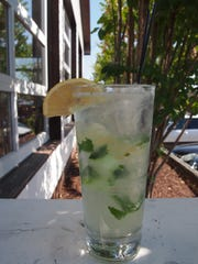 The LoJito, with fresh lemon, mint, cucumber, Bacardi Limon and agave nectar is a fitting companion to Local Taco's fresh Tex-Mex flavors.