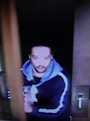 Police are searching for a suspect that allegedly robbed the Rail City Casino.