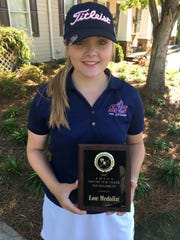 Park Crossing junior Brooke Sansom won the Class 6A girls substate golf tournament in Oxford last week.