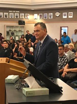 Daniel Miller of Desert Sands Unified School District.