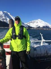 Andy Billings of Seward, Alaska.