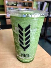 A detox smoothie from Fibrre in Fort Myers.