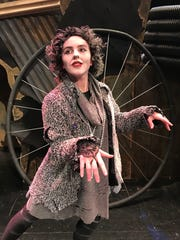 """Sophie Tomasi plays Grizabella, a former """"glamour cat"""" who just wants to fit in and be accepted, in """"Cats,"""" which opens Thursday."""