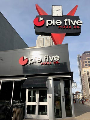 Pie Five Pizza Co. Downtown, one of two locations in Indiana, closed Dec. 17.