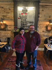 Susana and Alex Allen, owners of The Fainting Goat
