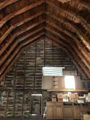 The interior of a barn, offered for free in downtown
