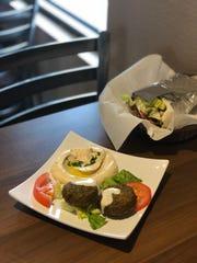 Gyro Stop in Keizer serves housemade falafel, pita