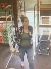 Sparks police are looking for this woman, who is suspected