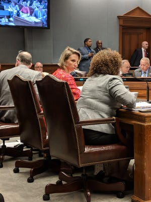 Health Secretary Rebekah Gee testified on Tuesday before the House Appropriations Committee.