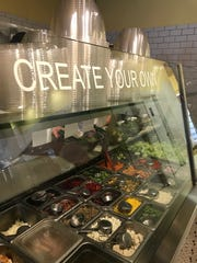 The Kneaded Bread in Port Chester is more than just bread: there are salads too, as well as sandwiches, soups, cupcakes and cakes. Photographed June 14, 2018