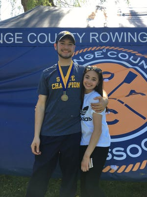 Lucas Spagnoli and Julia Gaughan were picked to participate in U.S. Rowing camps this summer.
