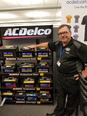 John Munsell, battery product specialist for ACDelco,