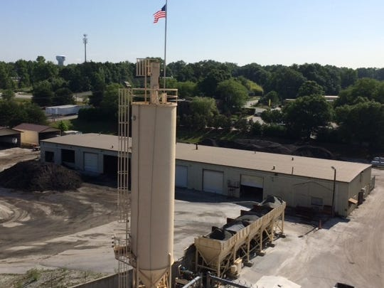 The Ashmore Brothers asphalt paving plant in Greer, above, and ones in Wellford and Anderson are part of the sale to Rogers Group.