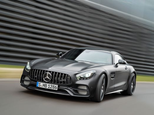 The Mercedes-Benz AMG GT C Edition 50.