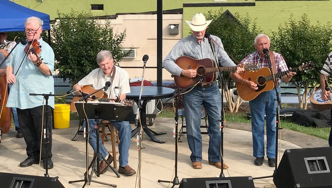 The Hatchie Bottom Boys are just one of the featured bands at this year's Hatchie Bottom Bluegrass Jamboree Saturday, May 12, 4-8 p.m., at the Delta Heritage Center in Brownsville.