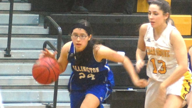 Wallington sophomore Jessica Crespo (24) will see plenty of playing time this season.