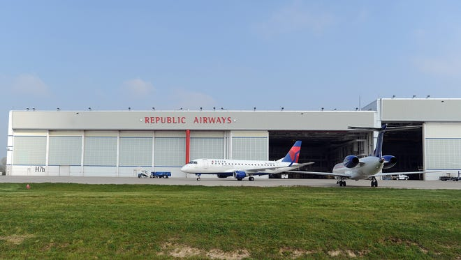 Indianapolis-based Republic Airways Holdings is filed for Chapter 11 bankruptcy protection in February 2016.