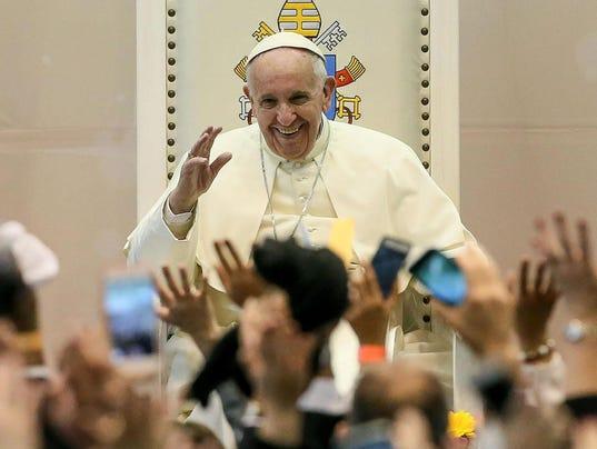 Visita del papa Francisco en México