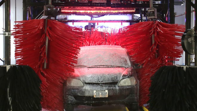 The Buckeye Express Car Wash at the corner of Lexington-Springhill Road and Ohio 309 in Ontario will open this weekend.