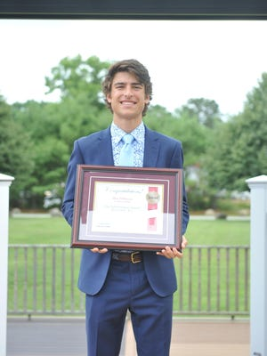 The 2020 Providence Journal Honor Roll Boy is Maxwell Dimuccio of La Salle.