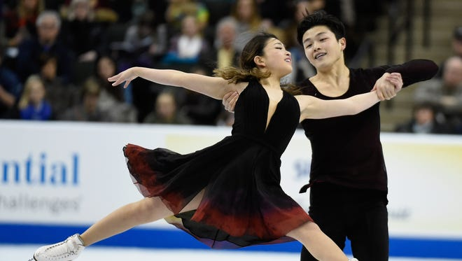 Maia Shibutani and Alex Shibutani compete in the Free Dance at the 2016 Prudential U.S. Figure Skating Championship on January 23, 2016 at Xcel Energy Center in St Paul, Minnesota.