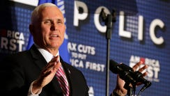 Vice President Mike Pence came to Milwaukee Wednesday