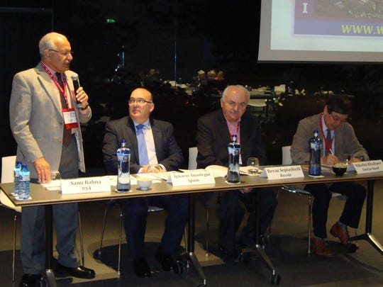 Dr. Sami Bahna speaks at the XI World Asthma, Allergy & COPD Forum in Barcelona, Spain.