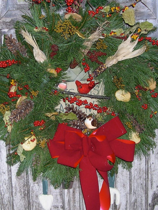 birdwatchers wreath