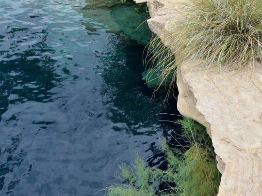 Near Santa Rosa, New Mexico, is a very popular natural