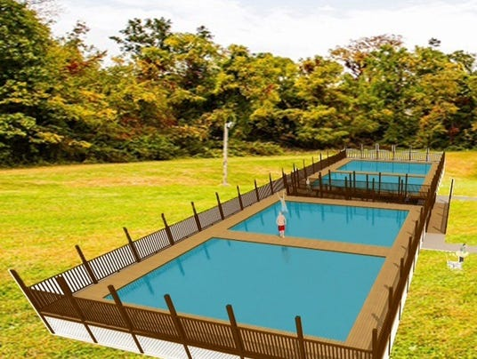 Shalom pools rendering