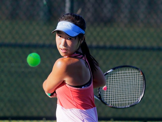 Elizabeth Yu is the Home News Tribune's Tennis Player of the Year