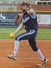 Freshman pitcher Raelin Chaffin gives Airline a solid